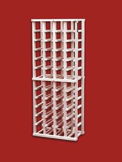 Picture of Pine 4 column wine rack (stackable series)
