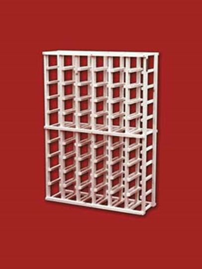 Picture of Pine 8 column wine rack (stackable series)