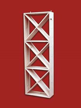 Picture of Pine multi level dimond wood rack (connoisseur series)