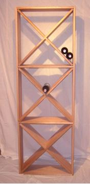 Picture of Mahogany Diamond wine racks (connoisseur series )