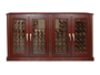 Picture of 400-Model Credenza Wine Cabinet with 4 Glass Doors