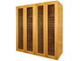 Picture of 1400-Model Wine Cabinet with 4 Glass Doors