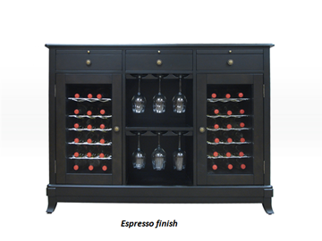 Picture of Cava 36-Bottle Wine Credenza