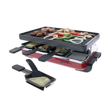 Picture of 8 Person Classic Raclette Party Grill - Cast Iron Plate