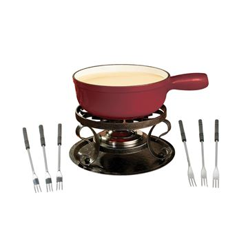 Picture of Lugano 9-PC, Cast Iron Fondue Set, 2L
