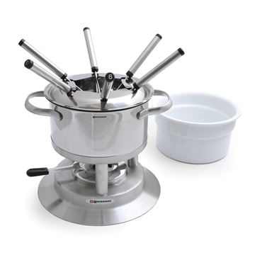 Picture of Arosa 11-PC Stainless Fondue Set