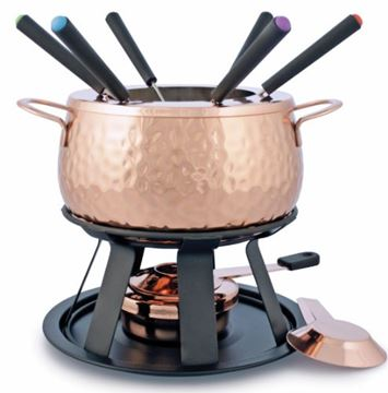 Picture of Swissmar -11 Piece Biel Copper Fondue Set