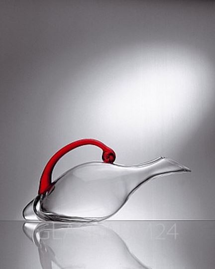Picture of 725.16, Eisch Duck Decanter Red Handle