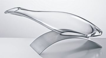Picture of 770.15,  Eisch Jaguar Decanter with Stainless Steel Base