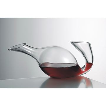 Picture of 754.15, Eisch No Drop Crystal Swan Decanter