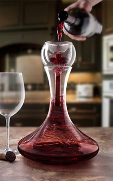 Picture of Wine Scent and Flavour Enhancer Decanter Set