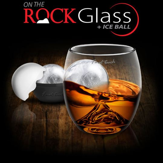 Picture of On The Rock Glass + Ice Ball