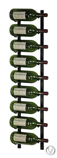 Picture of 9 Bottle Metal Magnum Wine Rack