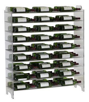 Picture of E1-4 Vintage View Evolution 81 Bottle Wine Rack