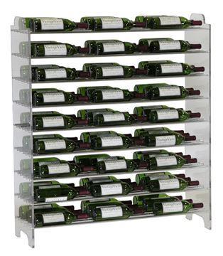 Picture of E1-4 Vintage View Evolution 81 Bottle Wine Rack