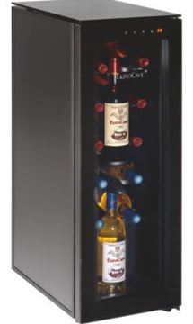 """Picture of Eurocave Tete a Tete Cellar - Full Glass Door - 10 """"Main du Sommelier"""""""