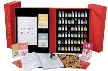 Picture of Le Nez du Vin, The Master kit 54 aromas