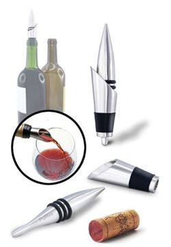 Picture of Pulltex Uranus Wine Stopper & Pourer