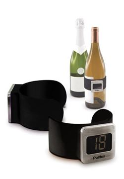 Picture of Pulltex, Wine Thermometer, Black