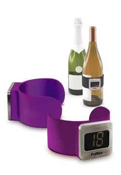 Picture of Pulltex, Wine Thermometer, Purple