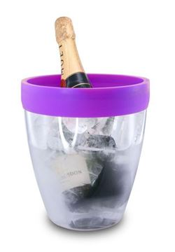 Picture of Pulltex, Purple Silicone Top | Ice Bucket