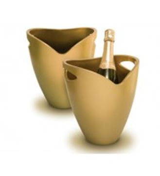 Picture of Pulltex, Ice Bucket Gold