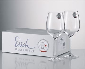 Picture of Eisch Sensis Plus, Superior Burgundy Wine Glasses - Twin Pack