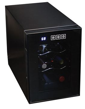 Picture of Koolatron Thermoelectric 6 Bottle Countertop Wine Cooler