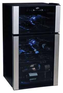 Picture of Koolatron, 29 Bottle Dual Zone Wine Cellar