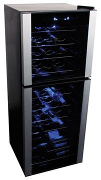 Picture of Koolatron , 45 Bottle Dual Zone Wine Cellar
