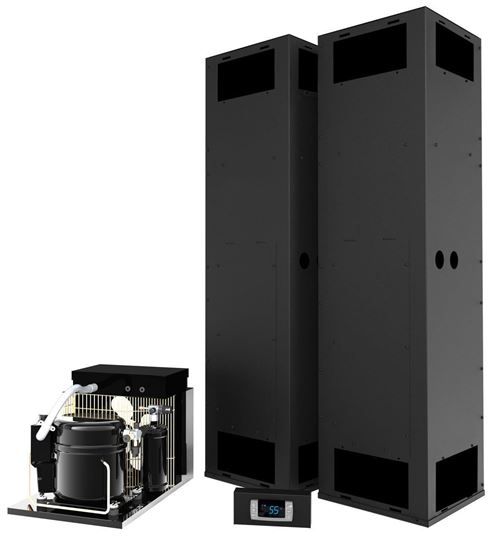 Picture of WhisperKOOL Vertical Mount Twin Split 13000