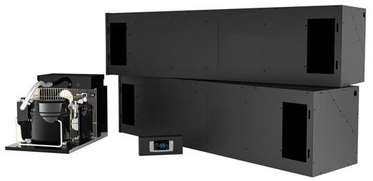 Picture of WhisperKOOL Horizontal Mount Twin Split 13000