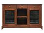 Picture of Cava 38-Bottle Wine Storage Credenza (Red Mahogany)