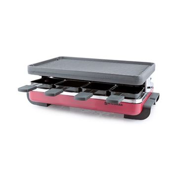 Picture of 8 Person  Red Classic Raclette Party Grill