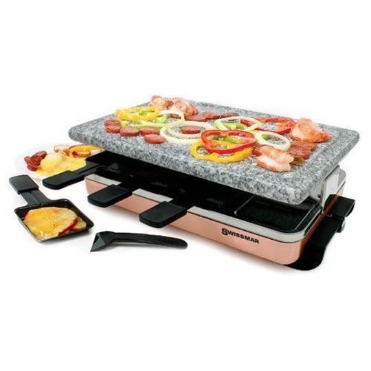 Picture of 8 Person Zermatt Raclette Party Grill with Granite Stone