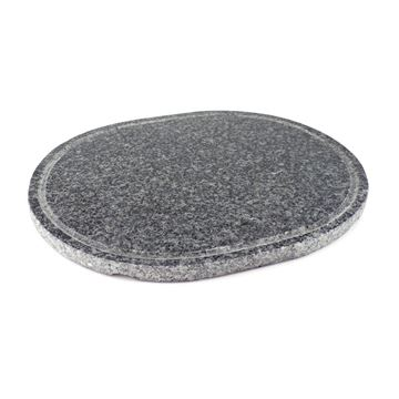 Picture of Replacement Oval Granite Stone Grill Plate