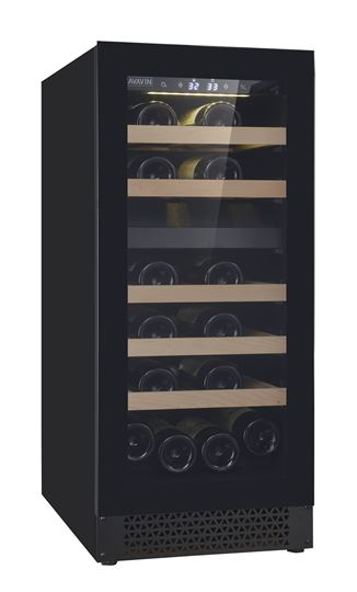 Picture of Cavavin V-024WDZFG, 24 bottle, Two Zones Wine Cabinet