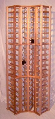 "Picture for category Mahogany Wine Racks(stackable series) 45"" tall"
