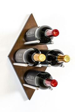Picture of Diamond Fusion Wine Rack Panel—Small (4 Bottles)