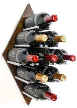 Picture of Diamond Fusion Wine Rack Panel—Medium (9 Bottles)