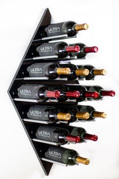 Picture of Diamond Fusion Wine Rack Panel—Large (16 Bottles)