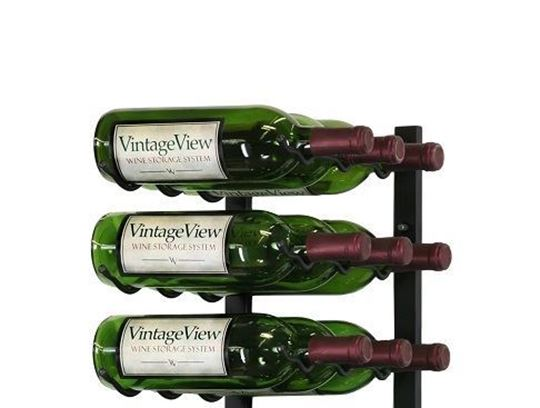 Picture of 9 Bottle Wall Mounted Wine Rack