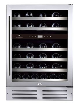 Picture of Wine Cell'R - 46 bottles, 2 zones wine cabinet.