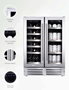 Picture of Wine Cell'R French Door Beverage Center- 38 bottles, 2 zones