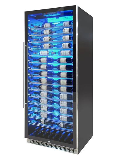 Picture of Private Reserve Series 188-Bottle Backlit Panel 300 Wine Cooler