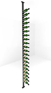 Picture of 20-60 Bottles, Vino Rails Post Kit, Single-Sided Cork Forward Floating Wine Rack