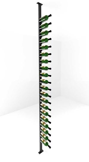 Picture of 20-60 Bottles, Vino Rails Post Kit, Single-Sided Cork Forward Floating Wine Rack