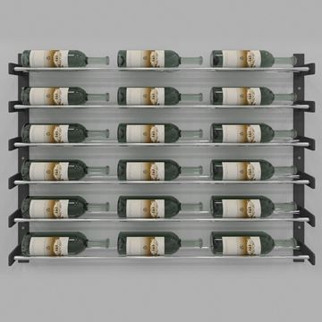 Picture of Evolution Wine Wall 30″ Wall Mounted Wine Rack (18 to 54 bottles)