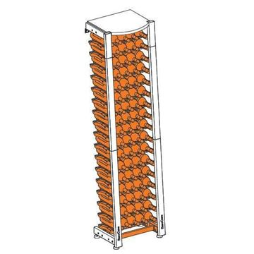 Picture of EuroCave Modulosteel wine racking system, MS1-L40