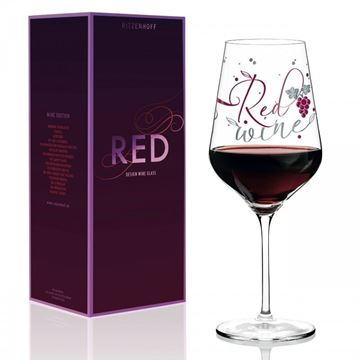 Picture of Red Wine Glass Red Ritzenhoff - 3000032